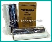 2 Rollen Toshiba Ink Film IF-01 für Fax TF-511