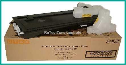 Utax CD1116, 2116, 1016 - Toner 611610010 - 18.000 Seiten Schwarz