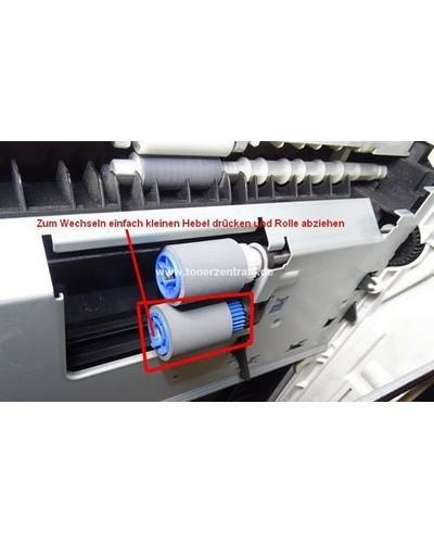 OKI 43000601 Pickup Roller Papiereinzugrolle weiß ist 2 von 2 für Standard oder Zusatzschacht