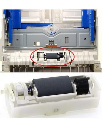 OKI 43895001 Papierschacht Pickup Roller Einheit ohne Feder!