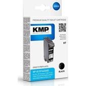 KMP H7 No. 45 - Refill Schwarz Tintenpatrone 42 ml für HP