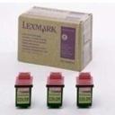 15M0101 - 3er-Pack Color - Lexmark Tintendruckkopf (3 x 12A1985)
