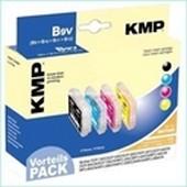 KMP B9V KombiPack 4 x Marken Tintenpatronen Brother LC1000 Schwarz-Cyan-Magenta-Yellow