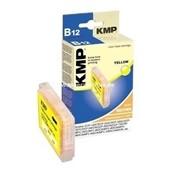 KMP B12 Marken Tintenpatrone kompatibel mit Brother LC1000 Yellow