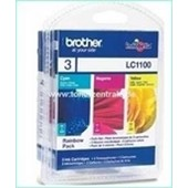 Brother Tintenpatrone Standard 3er-Pack LC1100 - je 325 Seiten-55ml Cyan-Magenta-Yellow