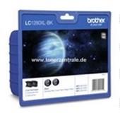 Brother LC1280XLBKBP2 Doppelpack Tintenpatrone 2 x 2.400 Seiten Schwarz