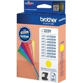 Brother Tintenpatrone LC-223Y - 550 Seiten Yellow