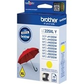 Brother MFC-J4620 - LC225Y XL Tintenpatrone - 1.200 Seiten Yellow