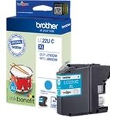 Brother MFC-J985 - Druckerpatrone LC22UC - 1.200 Seiten Cyan