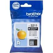 Brother Druckerpatrone LC3211BK Schwarz 200 Seiten