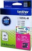 Brother DCPJ 100 - Druckerpatrone LC525XLM - 1.300 Seiten Magenta