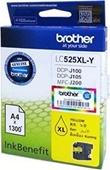 Brother DCPJ 100 - Druckerpatrone LC525XLY - 1.300 Seiten Yellow