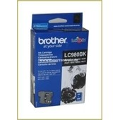 Brother Tintenpatrone LC-980BK, 6ml Schwarz