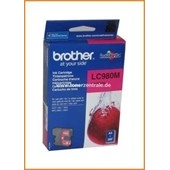 Brother Tintenpatrone LC-980M, 5,5ml Magenta