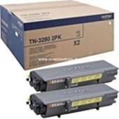 Brother Doppelpack TN3280 Toner Schwarz 2x 8.000 Seiten