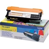 Brother Toner TN328Y Yellow 6.000 Seiten