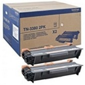 Brother HL5450, 6180 - Toner Doppelpack TN3380 TWIN - 8.000 Seiten, VE=2