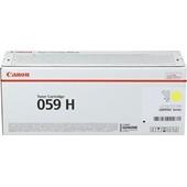 Canon 059HY Toner 13.500S. Gelb