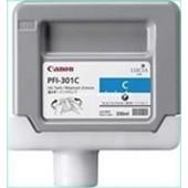 Canon IPF 8000, 9000 - PFI301C Druckerpatrone - 330ml Cyan