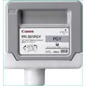 Canon IPF 8000, 9000 - PFI301PGY Druckerpatrone - 330ml Grau-Photo