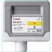 Canon IPF 8000, 9000 - PFI301Y Druckerpatrone - 330ml Yellow