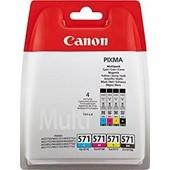 CANON PIXMA MG 7750 - MultiPack CLI571 Bk,C,M,Y 7 ml