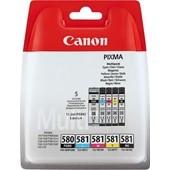 Canon Multipack PG580 11,2ml + CLI581 C M Y je 5,6ml