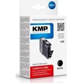 KMP C65 Druckerpatrone ersetzt Canon CLI8BK Schwarz 400 Seiten