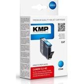 KMP C67 Druckerpatrone ersetzt Canon CLI8C Cyan 420 Seiten