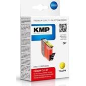KMP C69 Druckerpatrone ersetzt Canon CLI8Y Yellow 420 Seiten