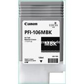 Canon IPF 6300, 6400 - PFI106MBK PFI105MBK Druckerpatrone - 130ml Schwarz Matt