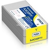 Epson TM-C 3500 - C33S020604 SJIC22PY - 33 ml Tintenpatrone Yellow