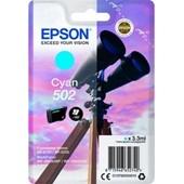 Epson Druckerpatrone 502 T02V2 Cyan 160 Seiten