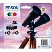 Epson Druckerpatrone MultiPack 502XL T02W6 Bk,C,M,Y