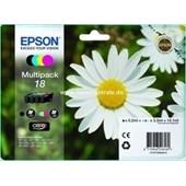 Epson Druckerpatrone T1806 18 - MultiPack Schwarz 175 Seiten, C,M,Y je 180 Seiten