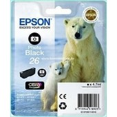Epson Tinte T2611 - 4,7ml Photo Schwarz