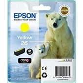 Epson XP600, XP700, XP800 - Epson Tinte T2614 - 4,5ml Yellow