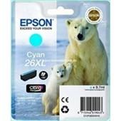 Epson XP600, XP700, XP800 - Epson Tinte T2632 - 9,7ml Cyan XL