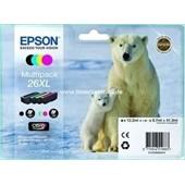 Epson Tinte T2636 - MultiPack XL 12,2ml Bk, je 9,7ml C,M,Y