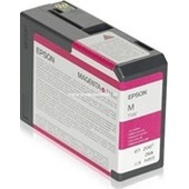 Epson Stylus Pro 3880 - T580A Druckerpatrone - 80ml Vivid Magenta