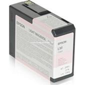 Epson Stylus Pro 3880 - T580B Druckerpatrone - 80ml  Vivid Magenta Light