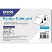 Epson C33S045417 - Premium Matte Label Continuous Roll, 51 mm x 35 m