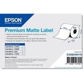 Epson C33S045418 - Premium Matte Label Continuous Roll, 76 mm x 35 m