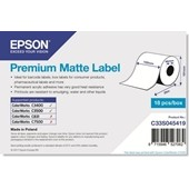 Epson C33S045419 - Premium Matte Label Continuous Roll, 102 mm x 35 m