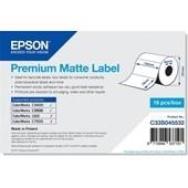 Epson C33S045532 - Premium Matte Label - Die-cut Roll: 102mm x 76mm, 440 labels