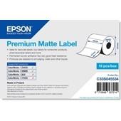 Epson C33S045534 - Premium Matte Label - Die-cut Roll: 76mm x 51mm, 650 labels
