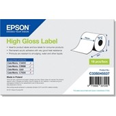Epson C33S045537 - High Gloss Label - Continuous Roll: 76mm x 33m