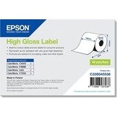 Epson C33S045538 - High Gloss Label - Continuous Roll: 102mm x 33m