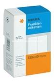 Herma Frankier Etiketten No. 4328 - 130x40mm weiß doppelt Packung 500 Etiketten
