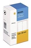 Herma Frankier Etiketten No. 4321 - 140x50mm weiß doppelt Packung 500 Etiketten